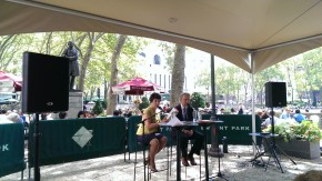 Bryant Park Reading Room, August 6, 2013